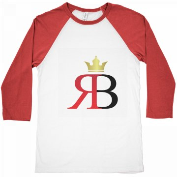 Red Bottoms Unisex Canvas 3/4 Tee