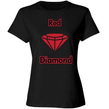 Red Diamond Comfort Tee