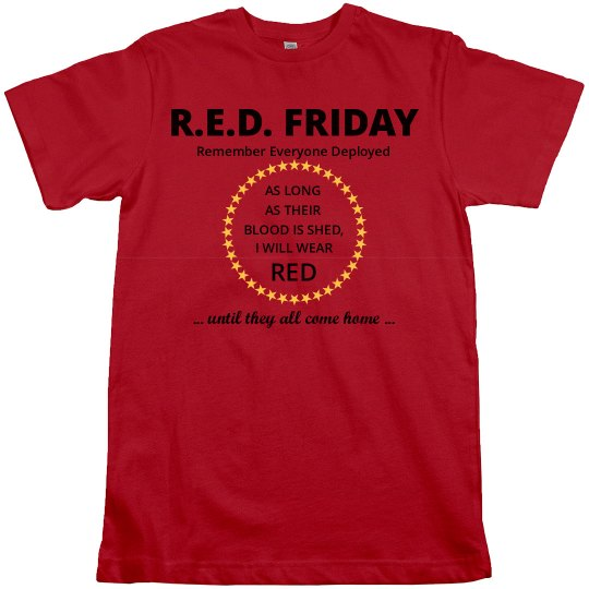 RED Friday blood shed
