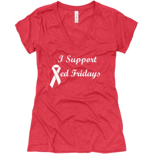 Red Fridays Tee