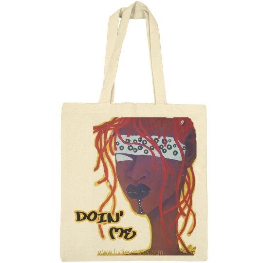 "Red Head ""I Slay"" small Tote bag"