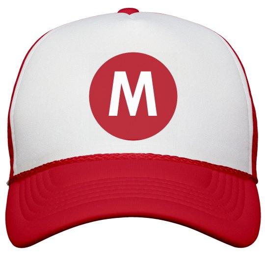 Red M Costume Accessory