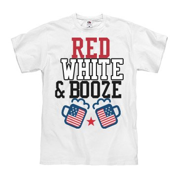 Red, White & Booze Men's
