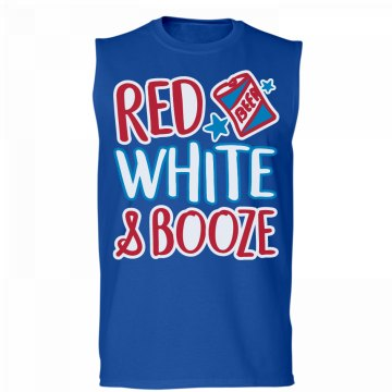 Red, White, & Booze Muscles