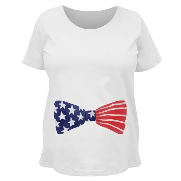 Red, White, & Due Bowtie July 4th