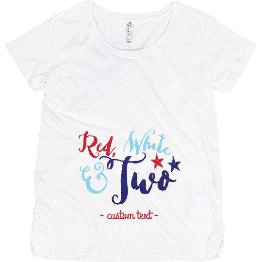 Red, White & Preggers with Twins