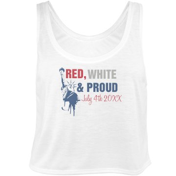 Red, White & Proud Tank