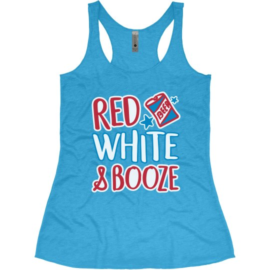 Red, White, And Booze 4th Of July