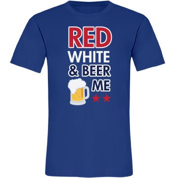 Red, White, Beer Me