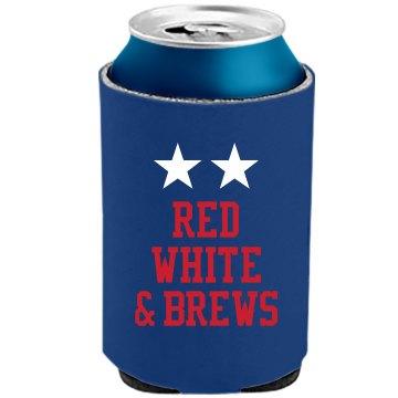 red white brews