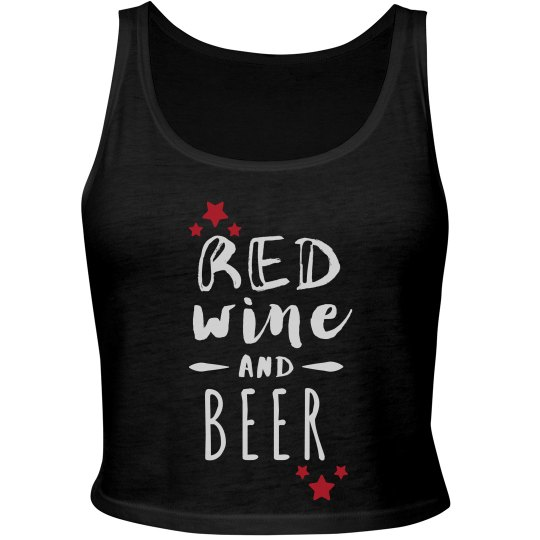 Red Wine And Beer for the Fourth
