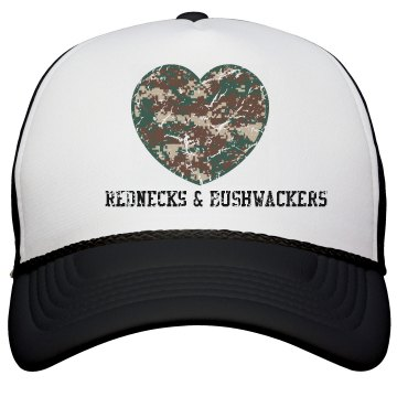 """Rednecks & Bushwackers"" - Snapback Trucker Hat"