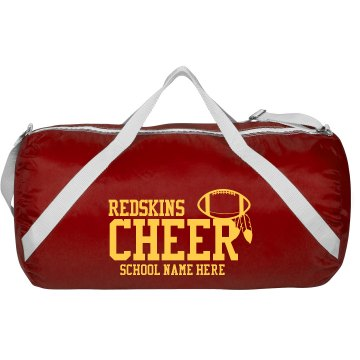 Redskins Cheer Bag