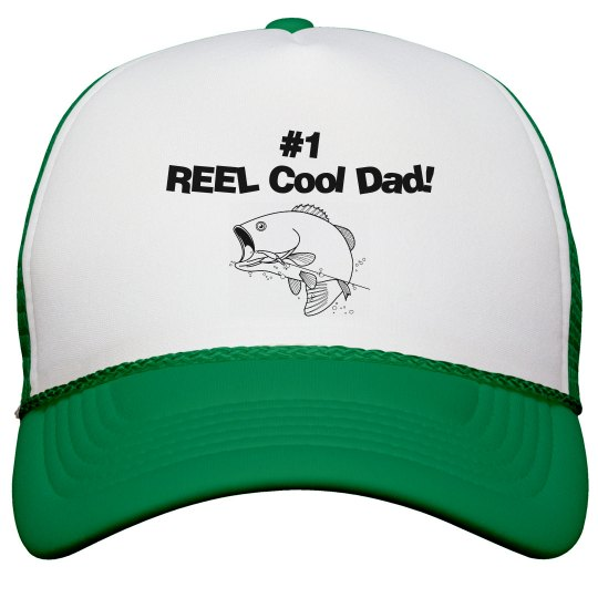 REEL Cool Dad hat - green