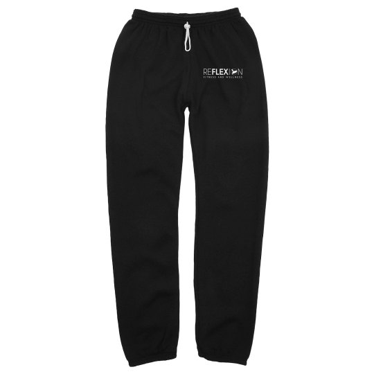 Reflexion Unisex Long Scrunch Sweatpants