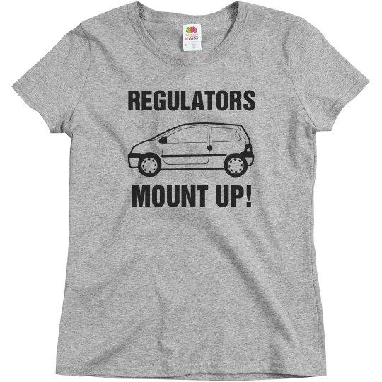 Regulators Mount Up Mom Minivan Tee