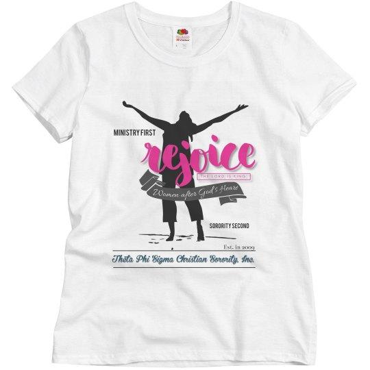 Rejoice shirt
