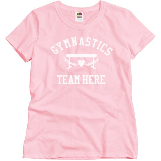 Religious Gymnastics Team Girl