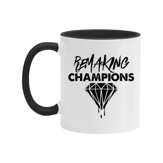 Remaking Champions Mug (Black)