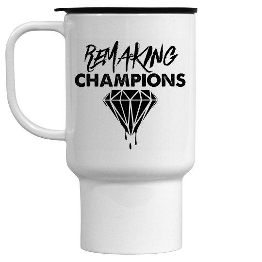 Remaking Champs Ceramic Travel Mug
