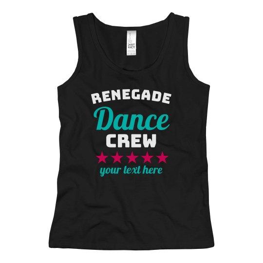 Renegade Dance Crew Custom Tank
