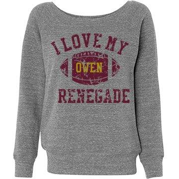 Renegade scoop sweatshirt