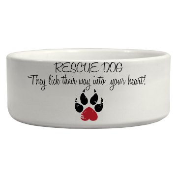 Rescue Dog Bowl