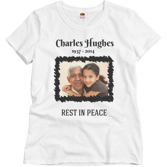 Rest In Peace Custom Grandparent Shirt