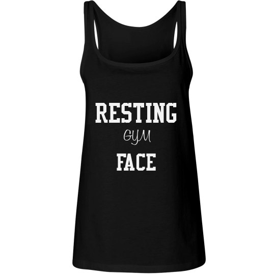 Resting Gym Face Relaxed Fit Tank