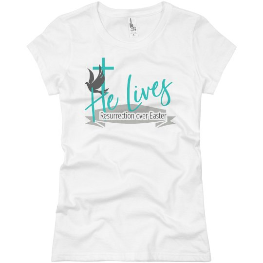 Resurrection over Easter Tee