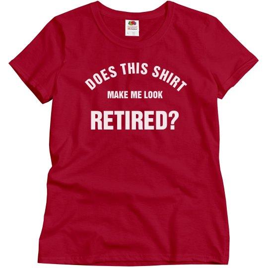 Retired shirt