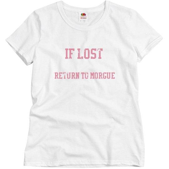 Return To Morgue T-Shirt