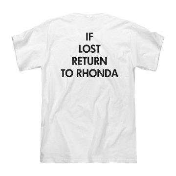Return to Rhonda