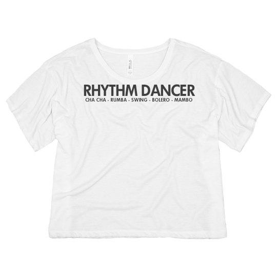 Rhythm Dancer Ballroom Shirt