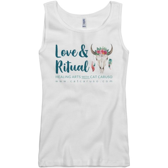 Ribbed Tank (white only)