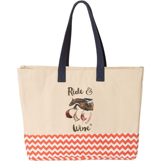 Ride and Wine tote