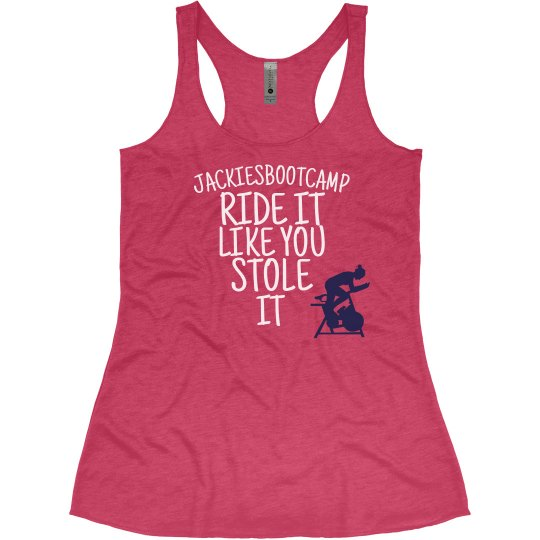RIDE LIKE YOU STOLE IT