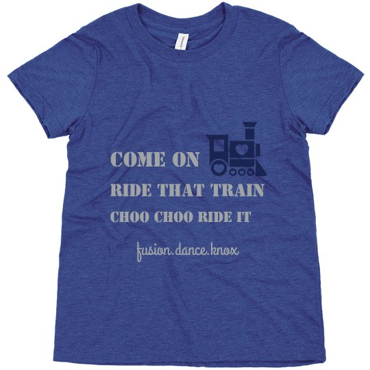 Ride That Train Youth Tee