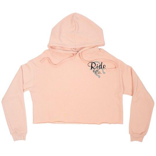 Ride The Pony Blog- Cropped Sweatshirt