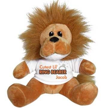 Ring Bearer Lion