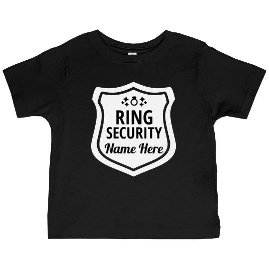 Ring Security Custom Badge Tee