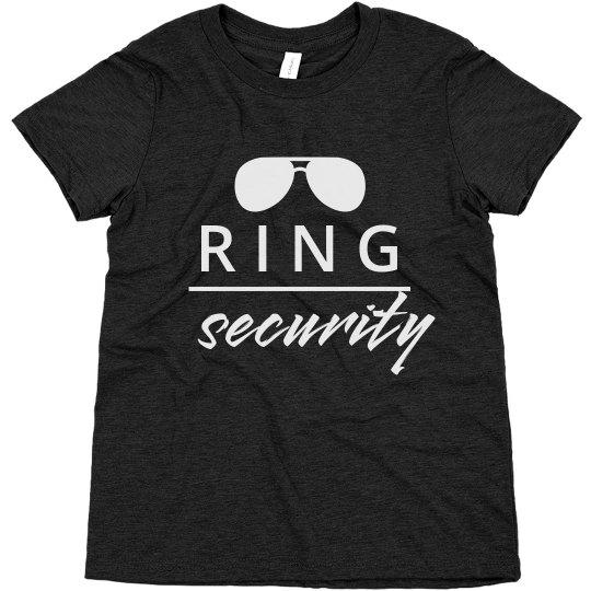 Ring Security Vintage Sunglasses Tee
