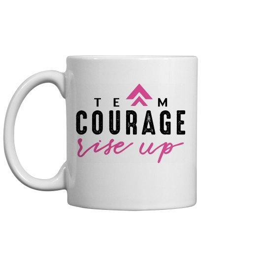 Rise Up Mug Pink