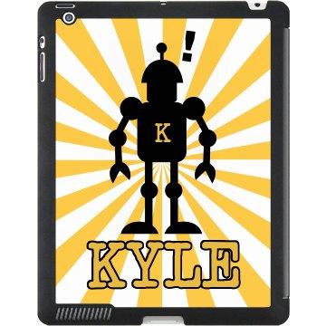 Robot Name iPad Case