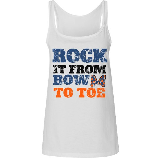 Rock Bow adult tank