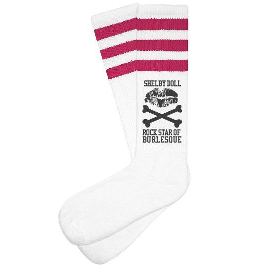 Rock Star sock