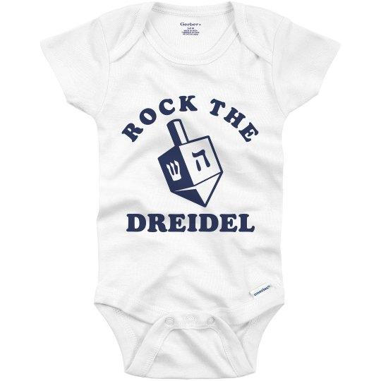 Rock the Dreidel Onesie