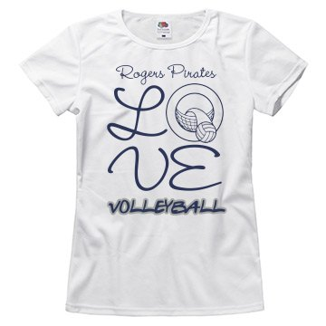 Rogers Pirates LOVE  Volleyball