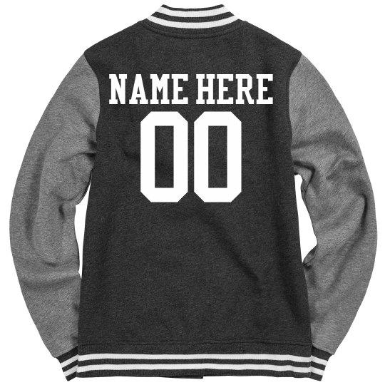 Roller Derby Girl Jacket With Custom Name Number