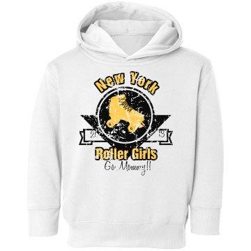 Roller Toddler Hoodie